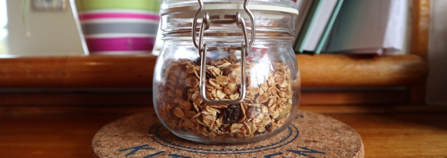 my jar of granola