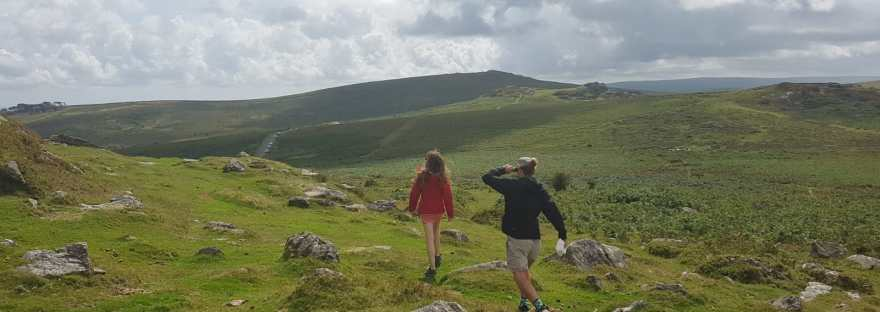 Walk on the Haytor, Dartmoor