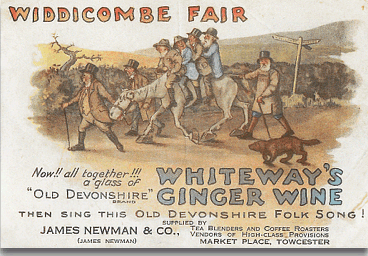 Poster about the Widdecombe Fair